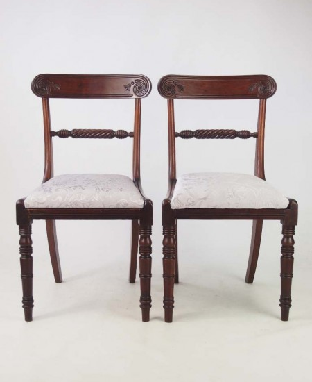 Pair Regency Chairs