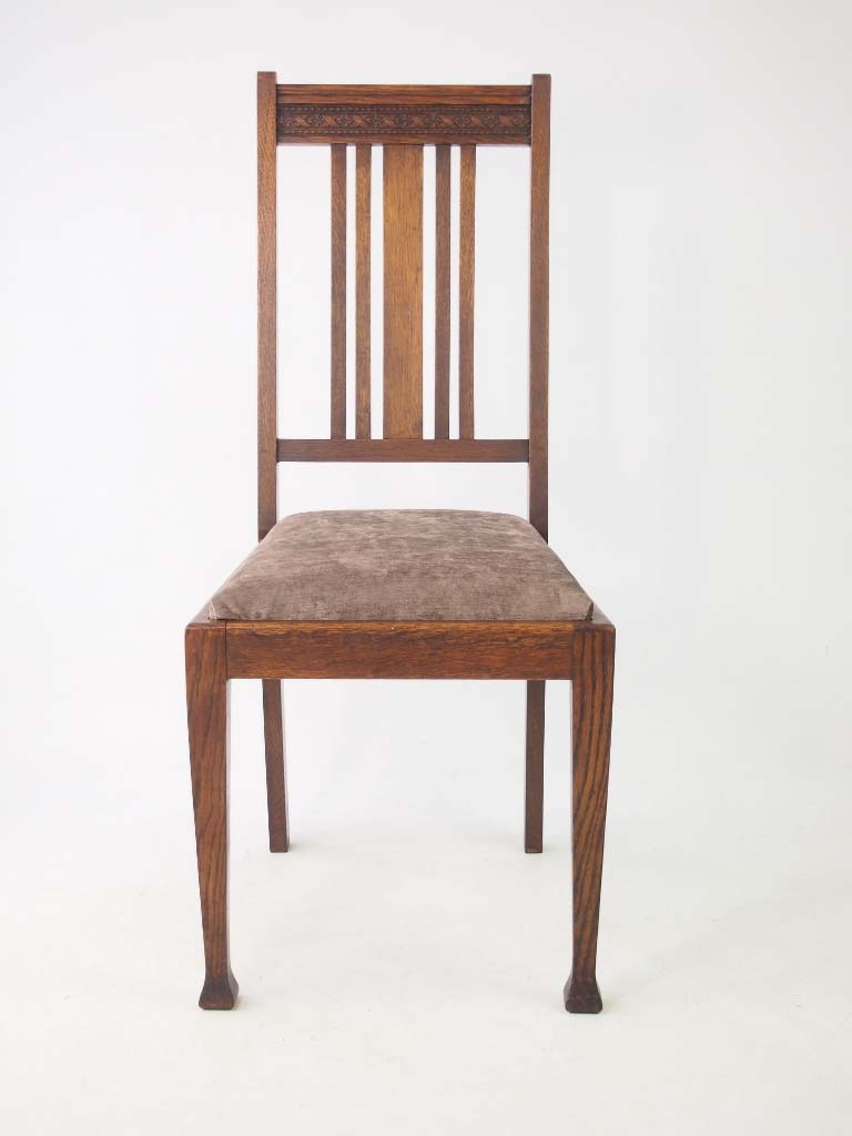oak antique chairs set 4 edwardian oak dining chairs 1124