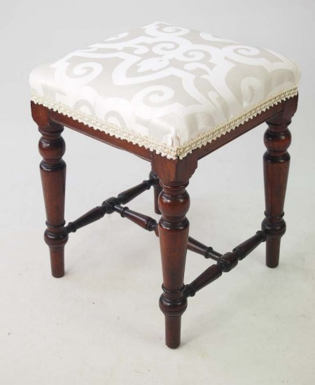 Pair Antique Victorian Stools