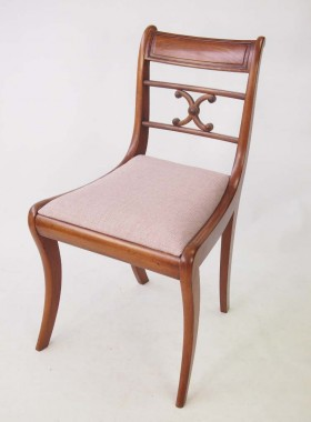 Antique Regency Mahogany Dining Chairs
