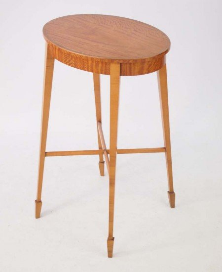 Satinwood Side Table