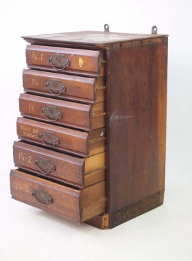 Small Bank of Drawers