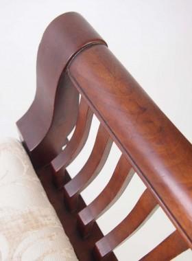 Ewdardian Mahogany Piano Stool
