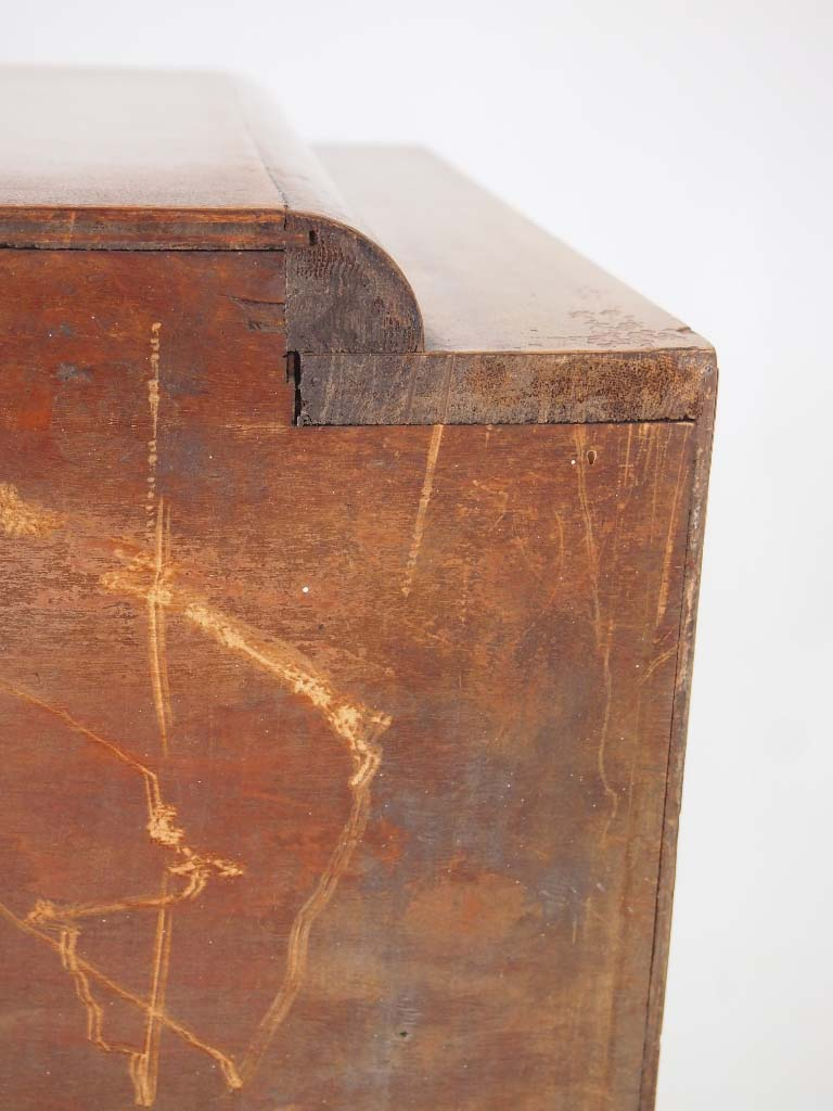 Art Deco Walnut Chest Of Drawers