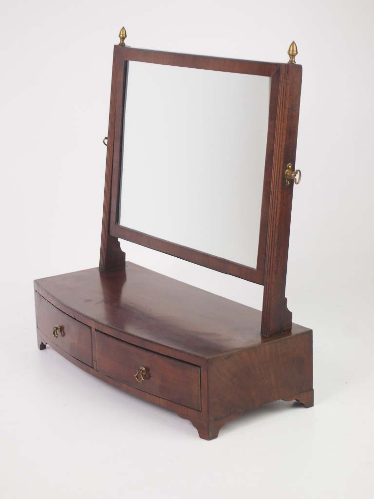 Antique Regency Dressing Table Mirror Toilet Mirror