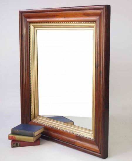 Victorian Rosewood Mirror