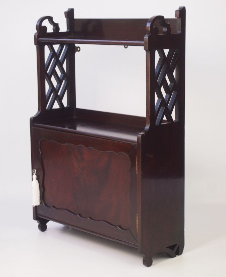 Shapland and Petter Edwardian Hanging Cabinet