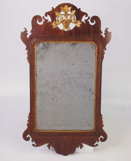 Georgian Chippendale Fretwork Mirror