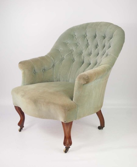 Victorian Armchair by John Taylor and Sons Edinburgh
