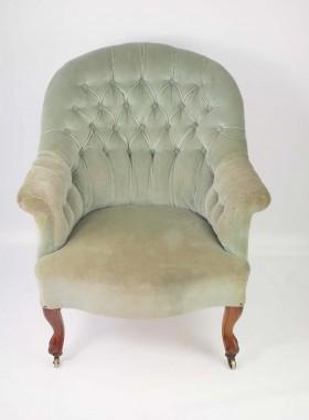 Victorian Armchair by John Taylor and Sons Edinburgh