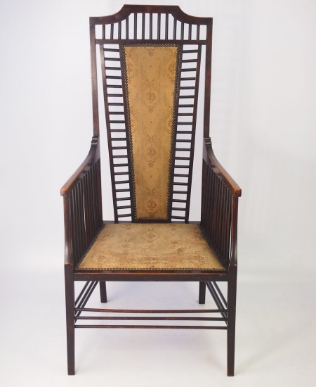 Antique Arts and Crafts Armchair