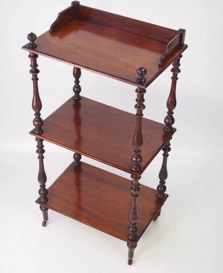 Antique Mahogany Whatnot
