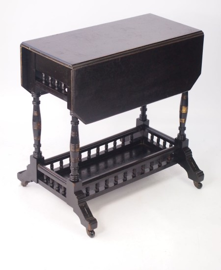 Small Antique Aesthetic Movement Table