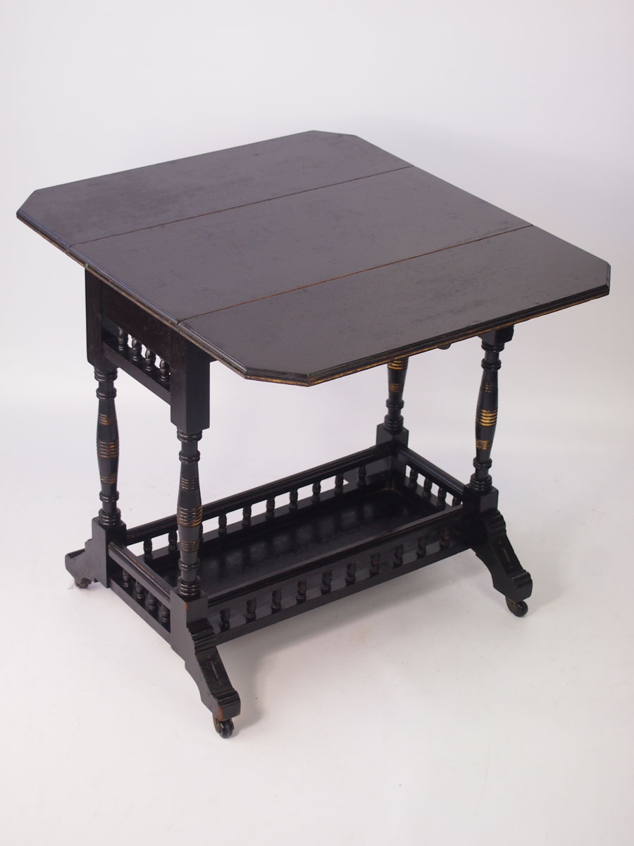 Small Aesthetic Movement Drop Leaf Table