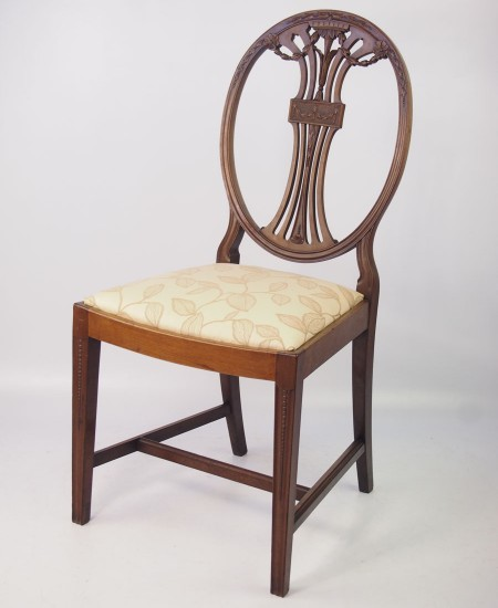 Edwardian Mahogany Desk Chair