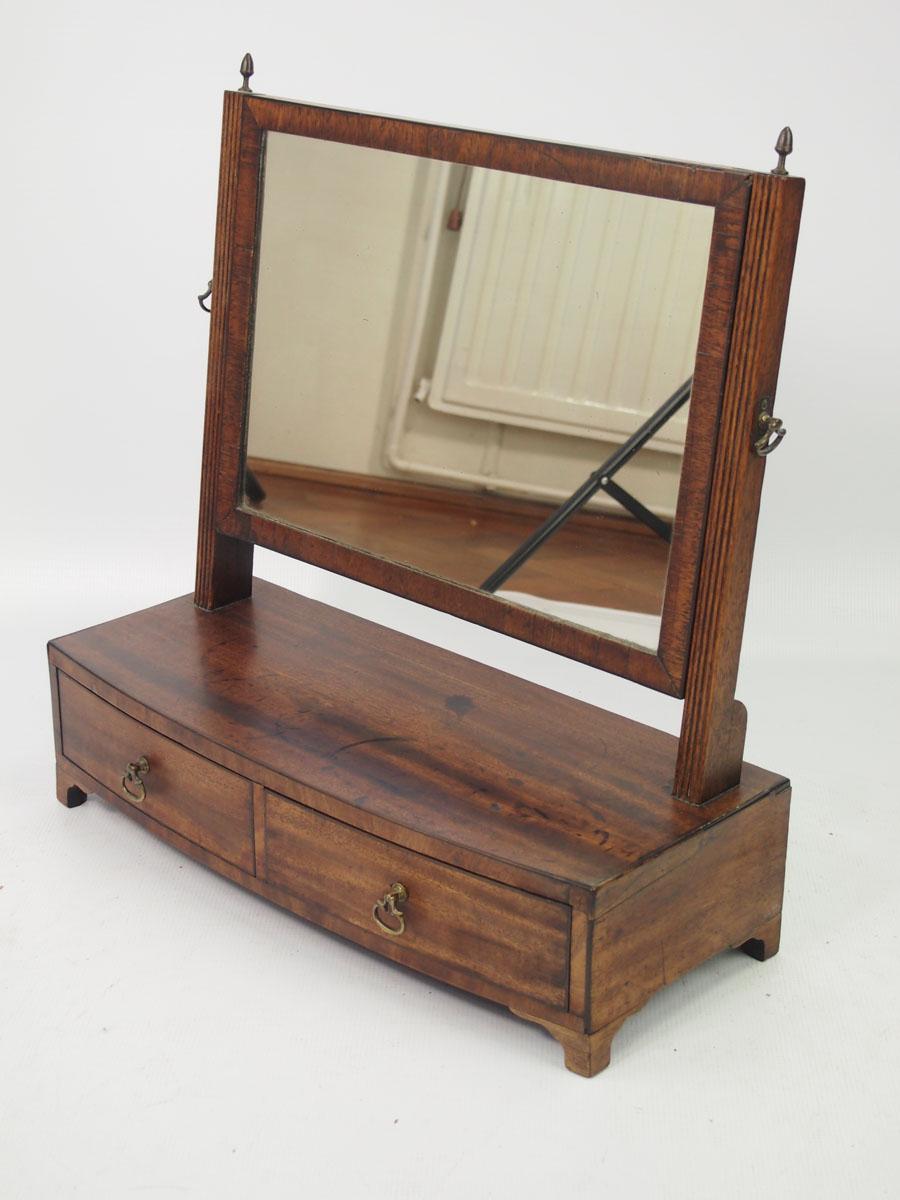Antique Regency Dressing Table Mirror Toilet Mirror