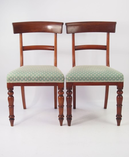 Pair Victorian Side Chairs