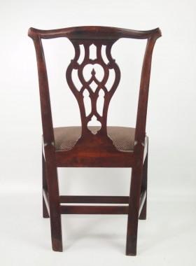 Georgian Mahogany Desk Chair