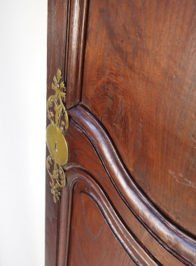 Pair Antique French Oak Doors