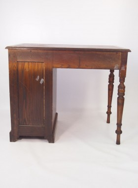 Small Antique Edwardian Oak Desk