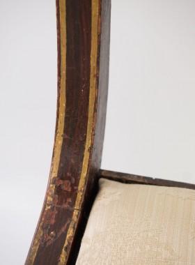 Painted Regency Chair