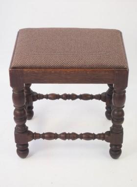 Victorian Oak Stool