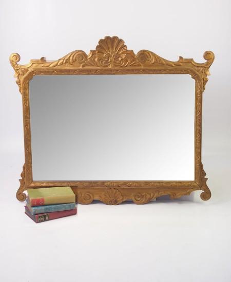 Asymmetrical Art Deco Mirror