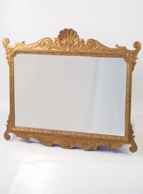 Large Antique Chippendale Mirror