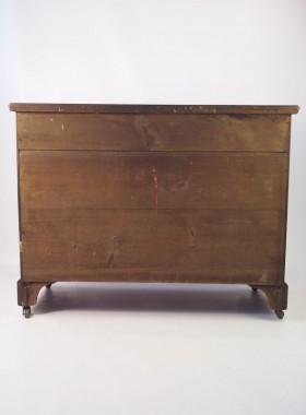 Edwardian Burr Walnut Chest of Drawers