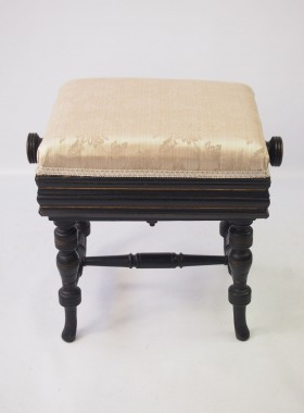 Aesthetic Movement Rise and Fall Piano Stool