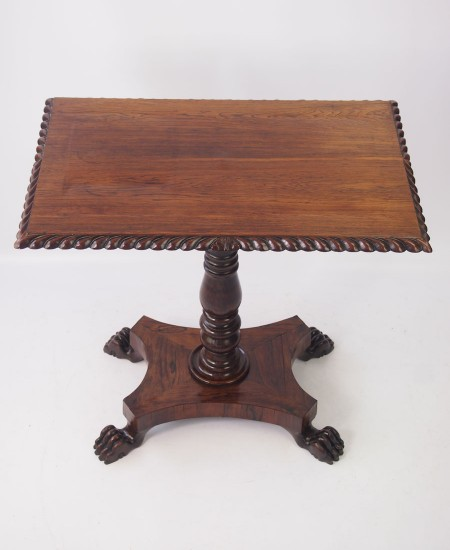 Regency Rosewood Side Table