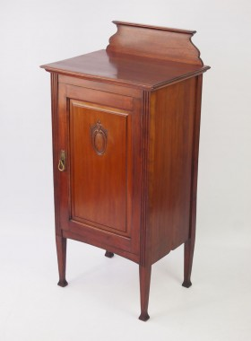 Edwardian Mahogany Music Cabinet