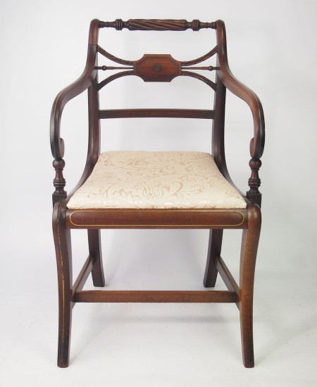 Antique Regency Desk Chair
