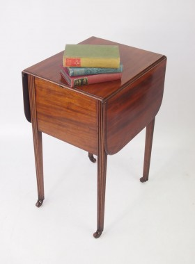 Small Antique Table with Secret Drawer