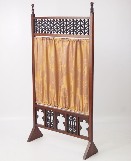 Antique Arts & Crafts Fire Screen