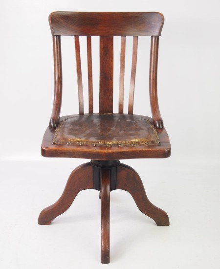 Small Edwardian Swivel Chair