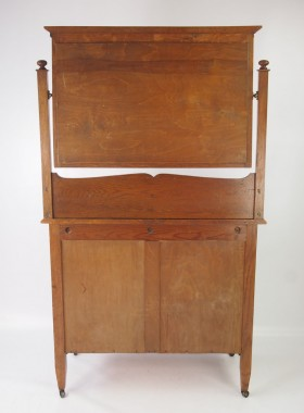Antique Oak Arts and Crafts Dressing Table