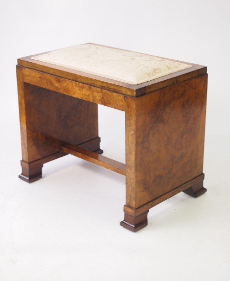 Art Deco Dressing Table Stool