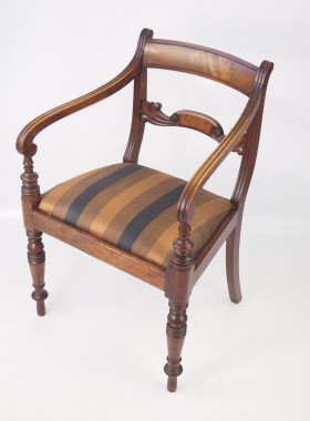 Regency Open Armchair