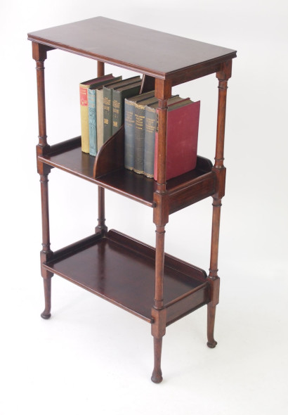 Edwardian Arts and Crafts Book Stand