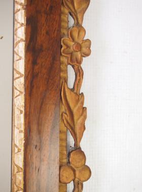 Antique Fretwork Mirror