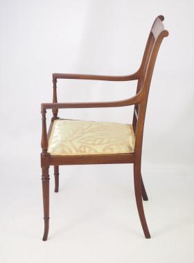 Edwardian Open Armchair