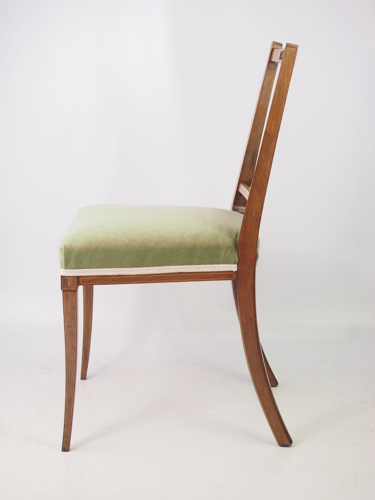 Edwardian Rosewood Dressing Table Chair