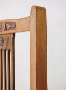 Edwardian Rosewood Bedroom Chair