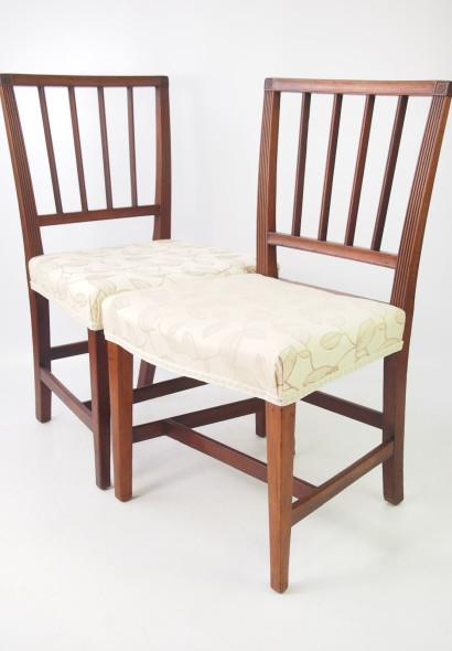 Pair Georgian Mahogany Chairs