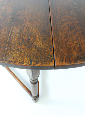 Ewdardian Oak Hall Table