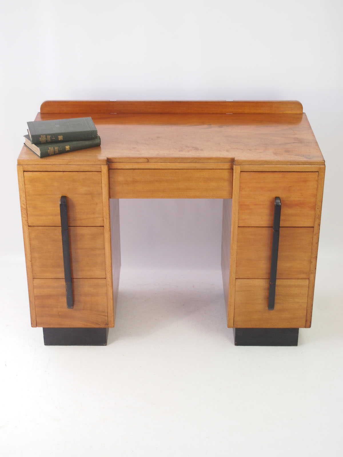 Vintage Art Deco Mahogany Desk