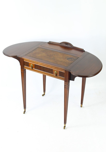 Small Edwardian Ladies Writing Desk James Craig Glasgow