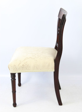 Regency Mahogany Side Chair