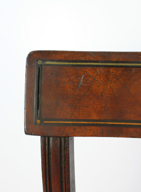 Regency Mahogany Side Chair